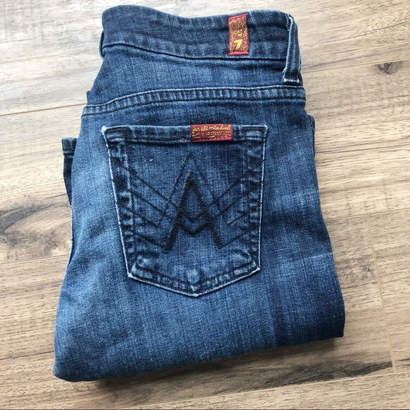 7 For All Mankind Denim - 7 For All Mankind Lexie A Pockets Jeans 26